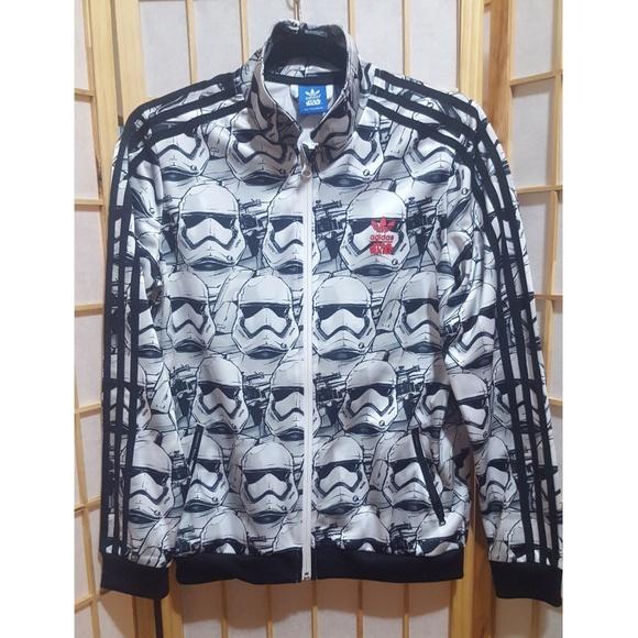 20b60d95da5 adidas Jackets   Blazers - Adidas Star Wars Storm Troop Track Jacket